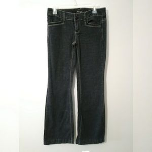 White House Black Market Blanc trouser Jean 2R